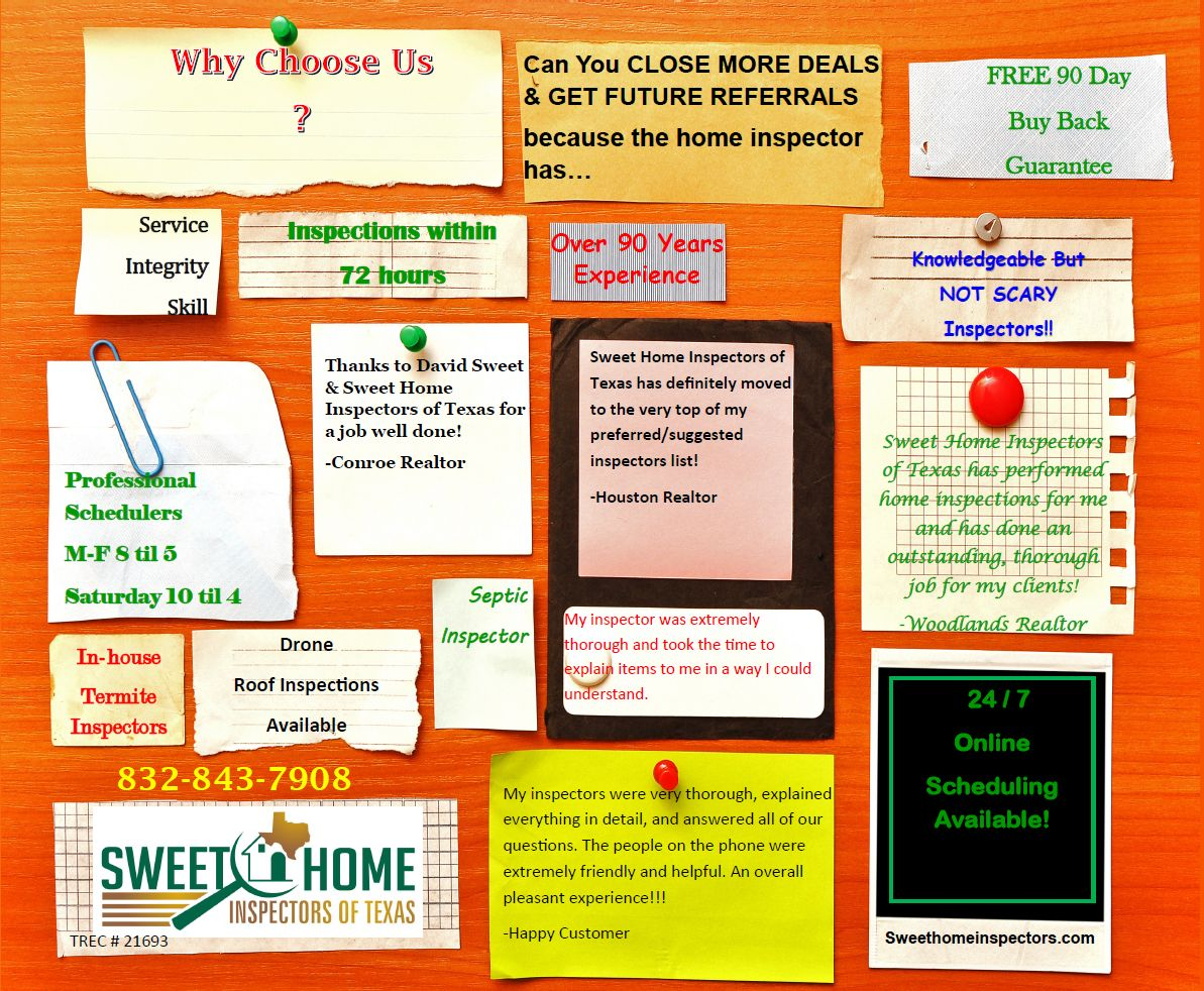 Why Choose Sweet Home Inspectors